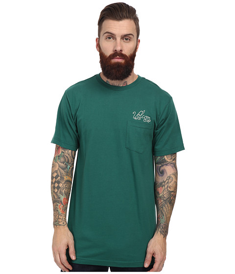 Volcom - Legger Pocket Tee (Grass Green) Men's T Shirt