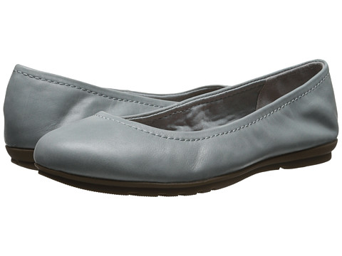 Rockport - Total Motion Ballet (Dusty Azure Waxed Calf) Women's Flat Shoes