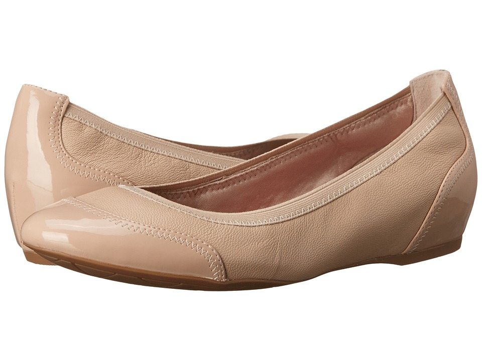 Rockport - Total Motion Crescent Ballet (Summer Nude Pearl) Women's Wedge Shoes