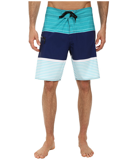 Volcom - Horizon Mod Boardshort (Bright Turquoise) Men's Swimwear