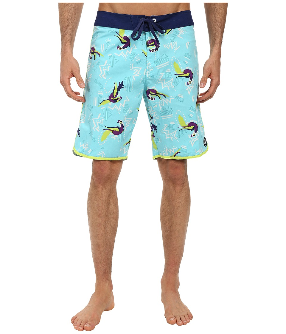 Volcom - The Bird Boardshort (Bright Turquoise) Men's Swimwear