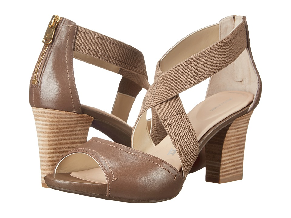 Rockport - Seven to 7 75mm Cross Strap Sandal (New Taupe Burn Calf) High Heels