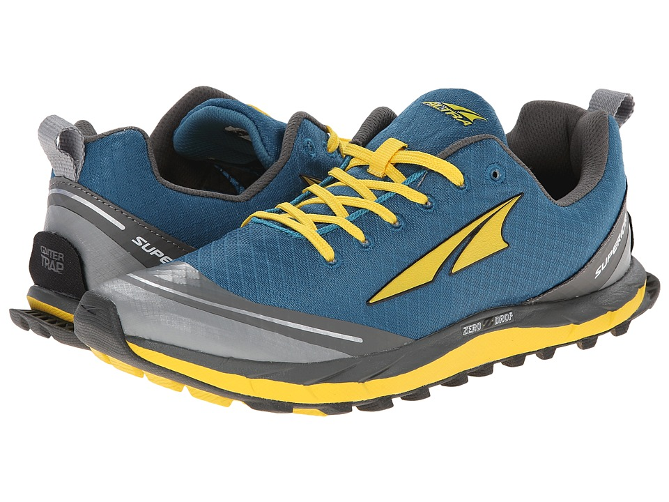 Altra Footwear - Superior 2.0 (Blue/Canary) Men's Running Shoes