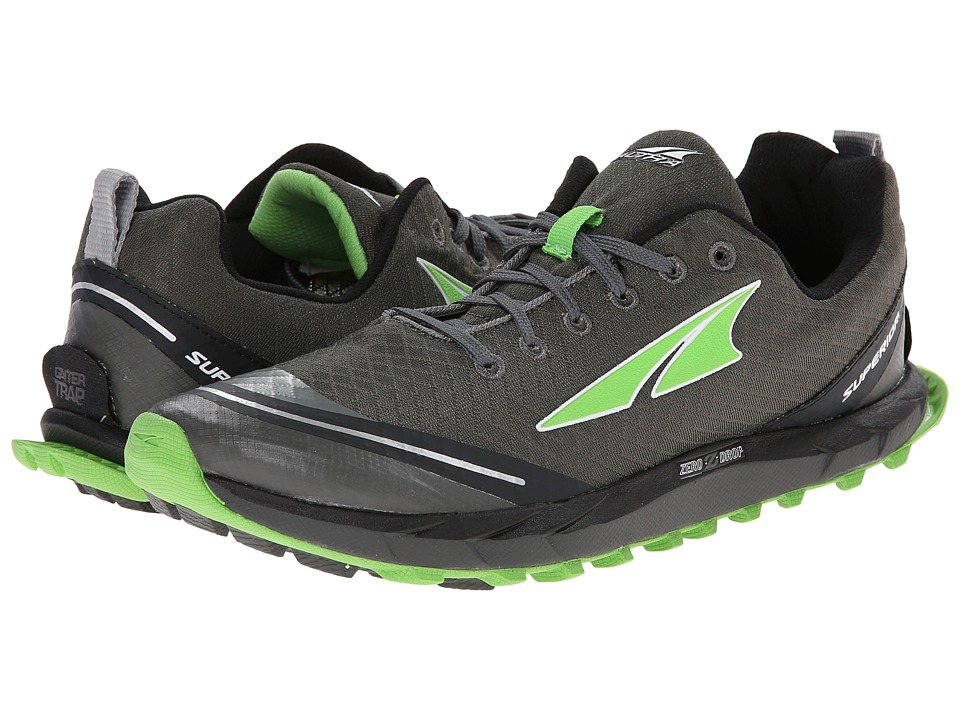Altra Footwear - Superior 2.0 (Gray/Green) Men's Running Shoes