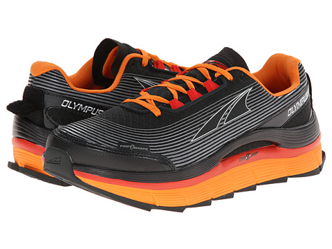 Altra Zero Drop Footwear - Olympus 1.5 (Gray/Orange) Men's Running Shoes