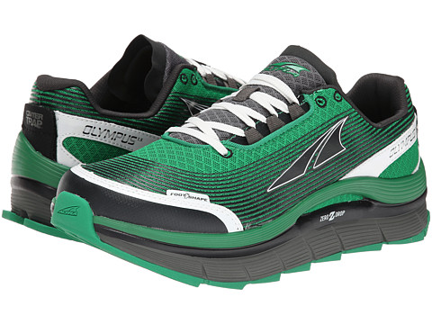 Altra Zero Drop Footwear - Olympus 1.5 (Green/Gray) Men's Running Shoes