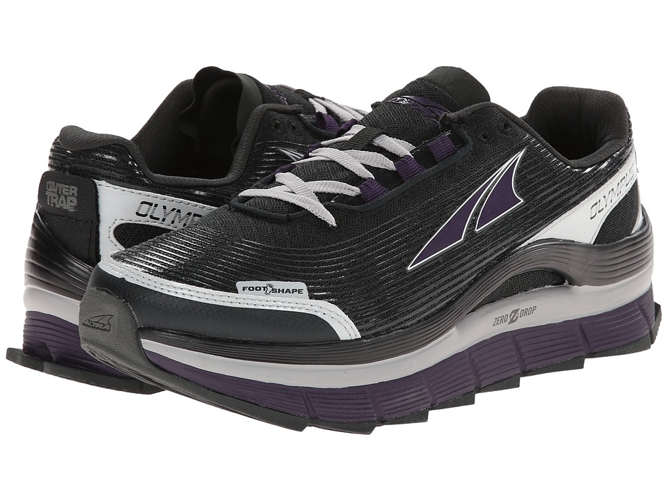 Altra Zero Drop Footwear - Olympus 1.5 (Black/Purple) Women's Running Shoes
