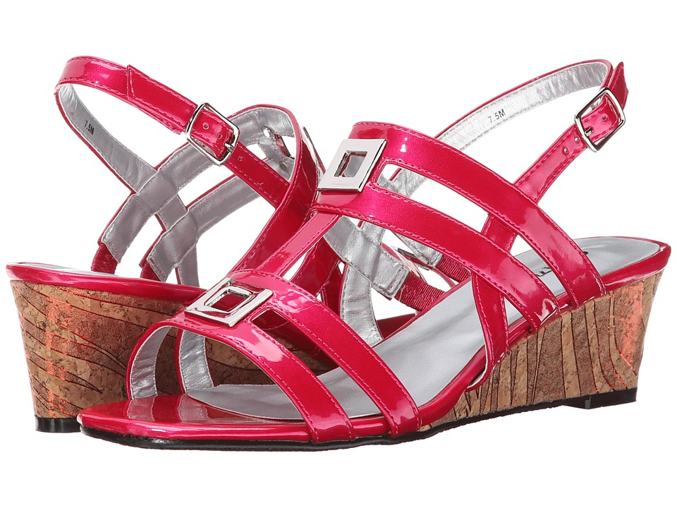 Image of Annie - Agate (Fuchsia) Women's Wedge Shoes