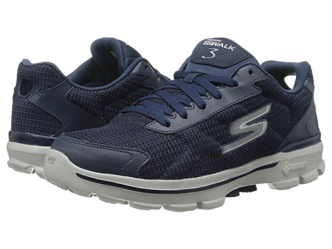 760aa16103fb0 UPC 888222678876 product image for SKECHERS Performance - Go Walk 3 - Fit  Knit (Navy ...