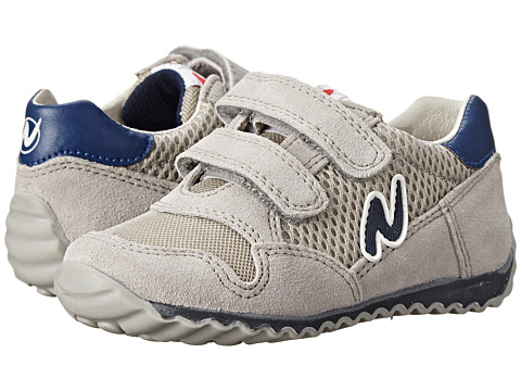 Naturino - Nat. Sammy SP15 (Toddler/Little Kid) (Gray/Navy) Boys Shoes