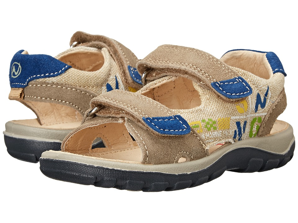 Naturino - Nat. 5719 SP15 (Toddler/Little Kid/Big Kid) (Tan/Navy) Boys Shoes
