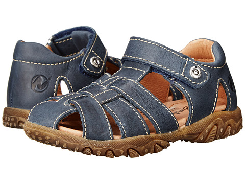 Naturino - Nat. Gene SP15 (Toddler/Little Kid) (Navy Leather) Boys Shoes