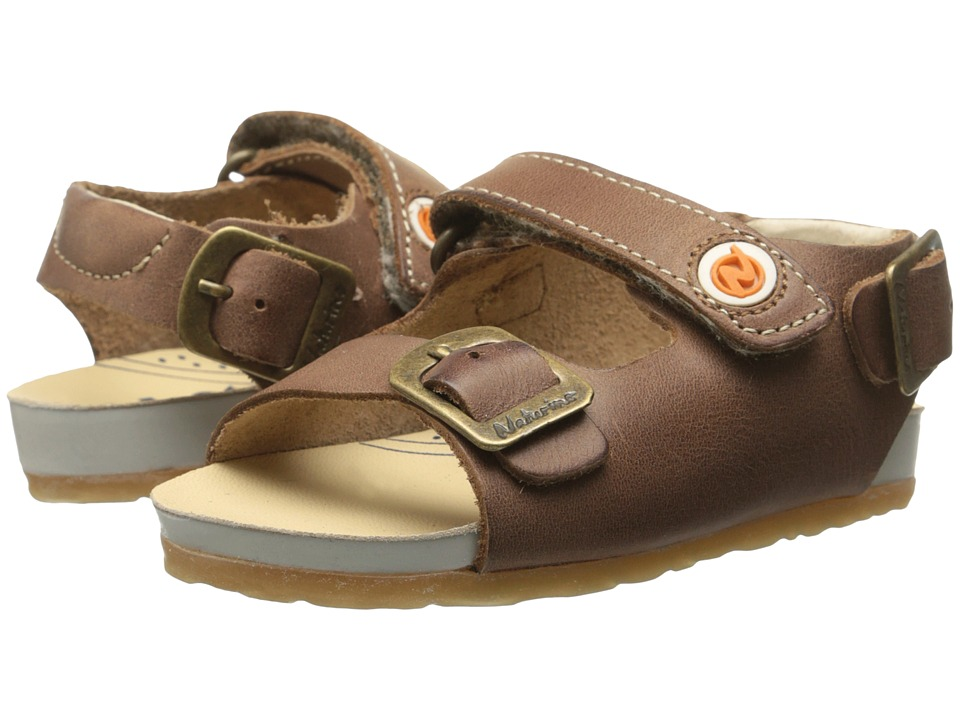 Naturino - Nat. 1407 SP15 (Toddler) (Brown) Boys Shoes