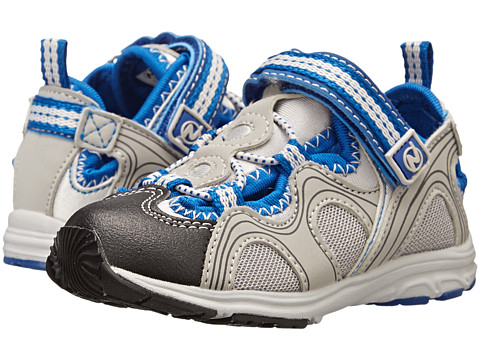 Naturino - Nat. Hiroshi SP15 (Toddler/Little Kid/Big Kid) (Gray/Blue) Boys Shoes