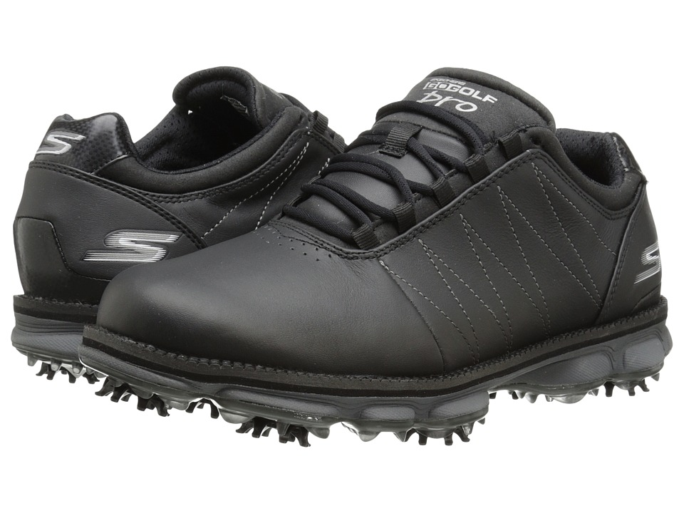 SKECHERS Performance - Go Golf Pro (Black) Men's Golf Shoes