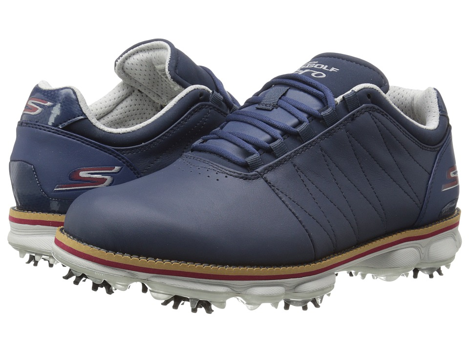 SKECHERS Performance - Go Golf Pro (Navy/Gray) Men's Golf Shoes