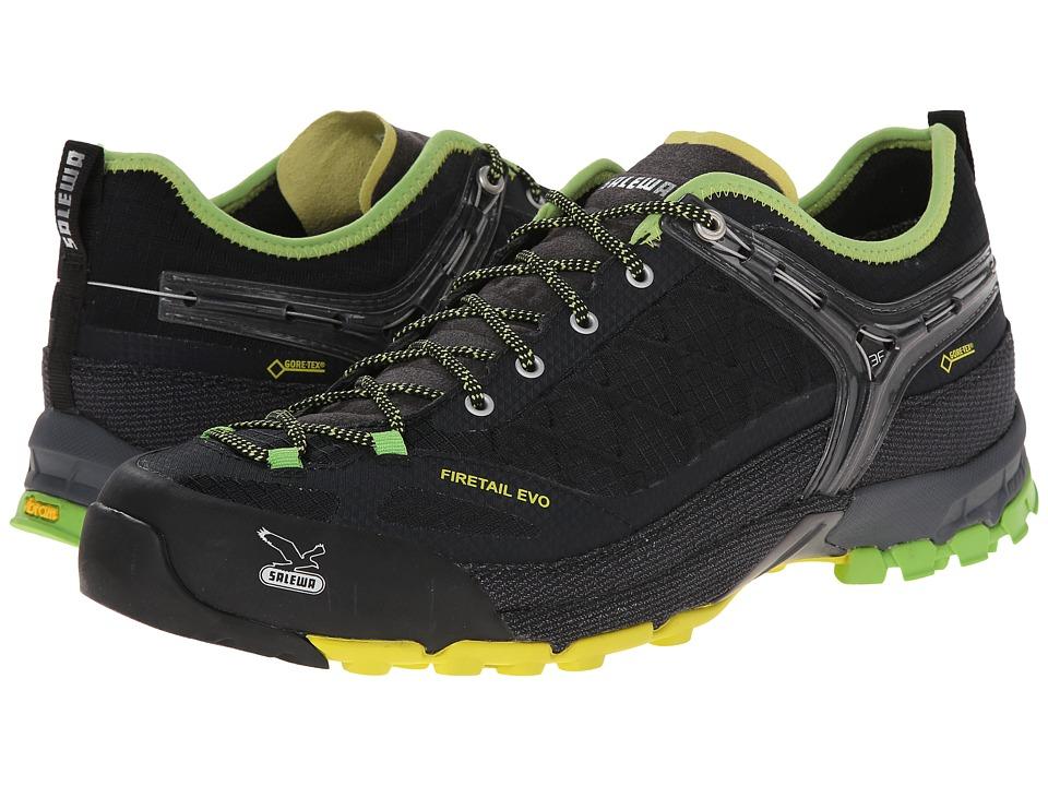 SALEWA - Firetail Evo GTX (Black/Emerald) Men's Shoes