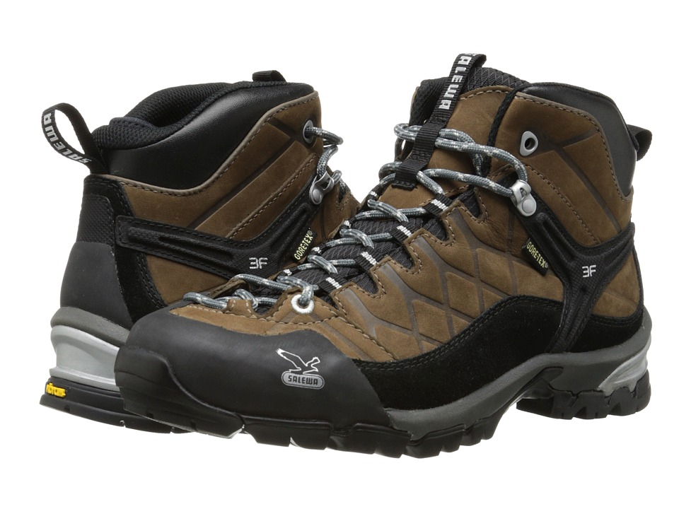 SALEWA - Hike Trainer GTX (Brown) Men's Shoes