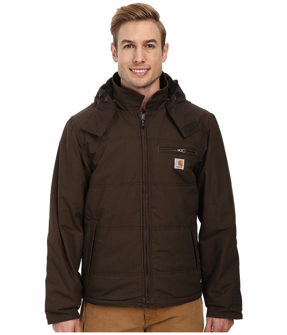 Carhartt - Quick Duck Livingston Jacket (Dark Coffee) Men's Coat