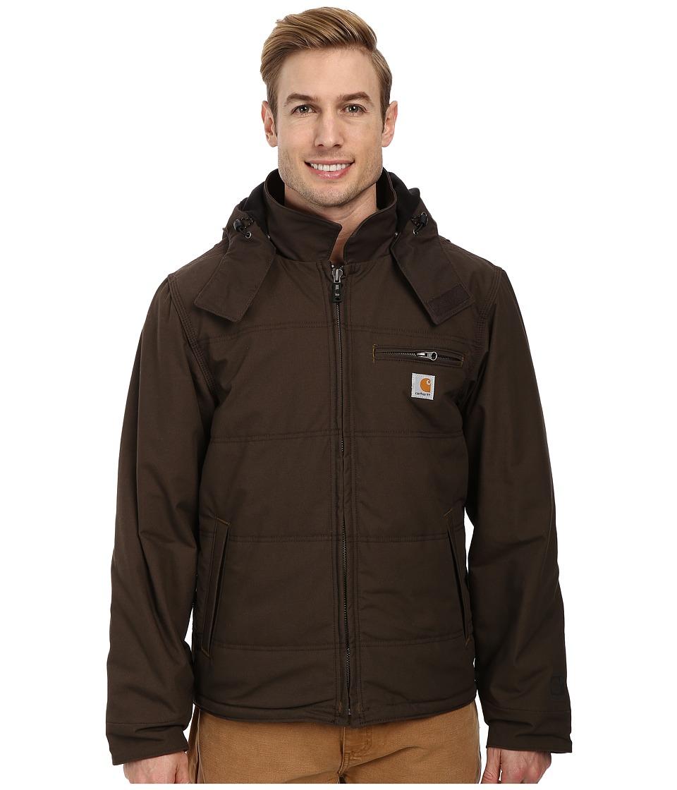 Carhartt - Quick Duck Livingston Jacket (Dark Coffee) Men's Coat