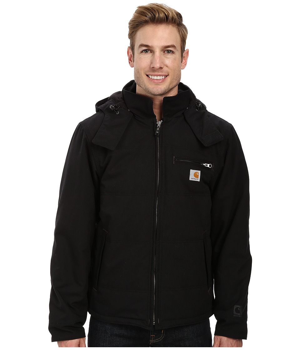 Carhartt - Big Tall Quick Duck Livingston Jacket (Black) Men's Coat