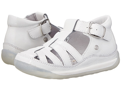 Naturino - Nat. 164 SP15 (Toddler) (White) Girls Shoes