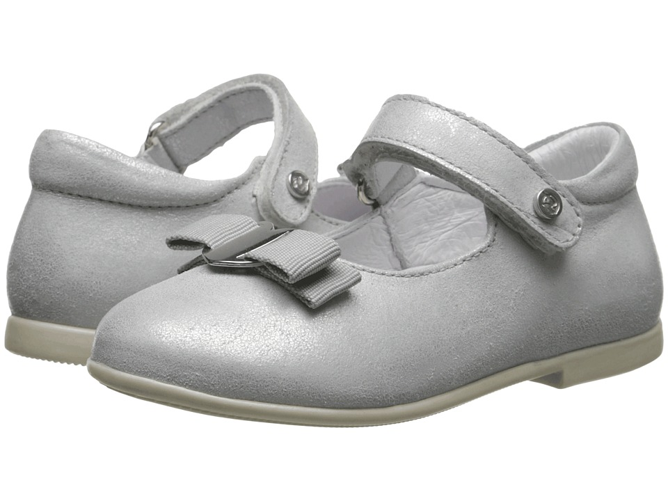 Naturino - Nat. 4891 SP15 (Toddler) (Silver) Girls Shoes