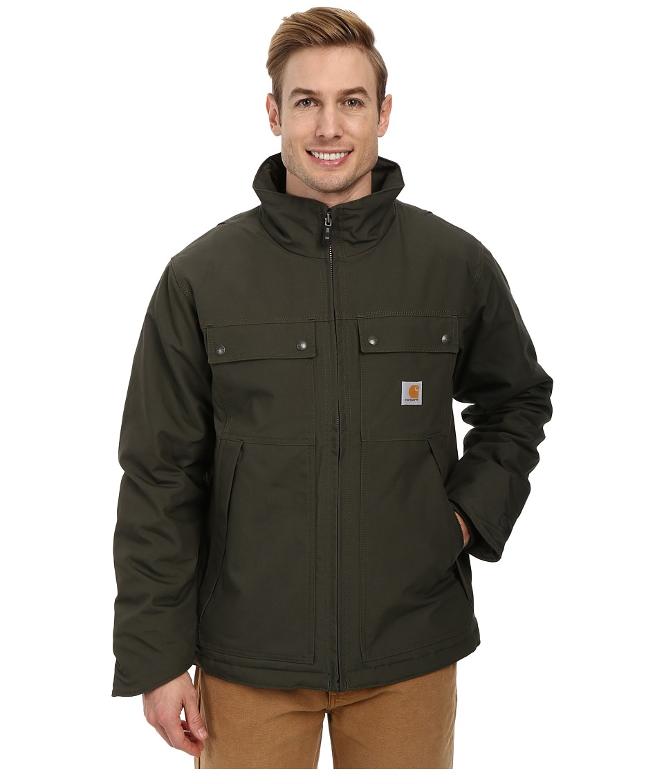 Carhartt - Quick Duck(r) Jefferson Traditional Jacket (Olive) Men's Coat