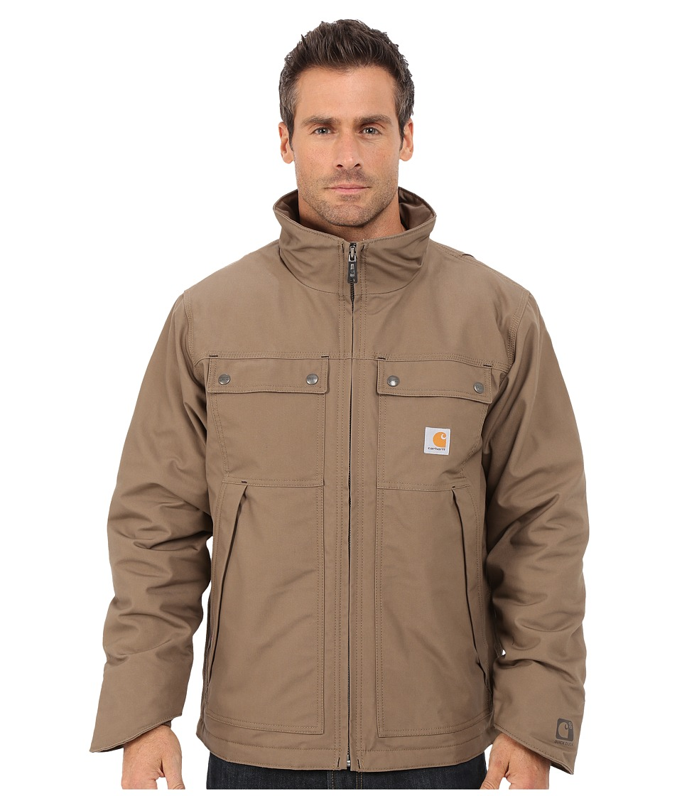 Carhartt - Quick Duck Jefferson Traditional Jacket (Canyon Brown) Men's Coat