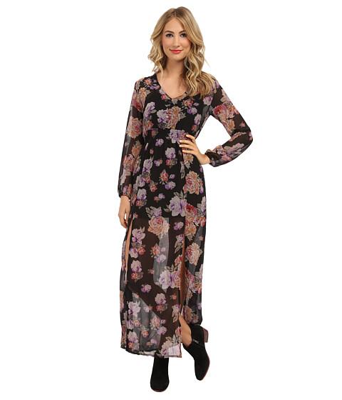 MINKPINK - Light Floral Breeze Maxi Dress (Multi) Women's Dress
