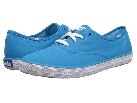 Keds - Champion Seasonal Solids (Vivid Blue) Women