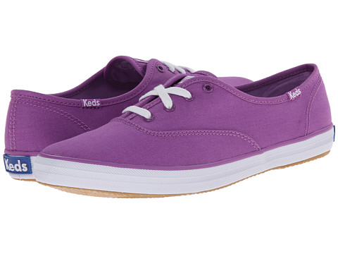 Keds - Champion Seasonal Solids (Purple) Women