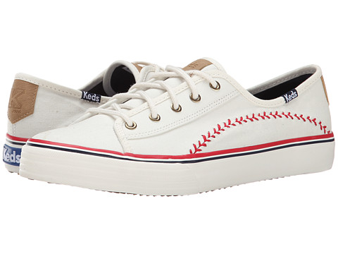 Keds - Double Play (Off White) Women
