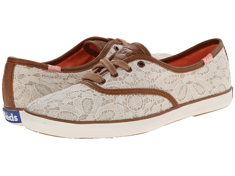 Keds - Champion Woven Lace (Cream) Women's Lace up casual Shoes