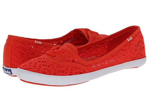 Keds - Teacup Crochet (Red) Women's Shoes