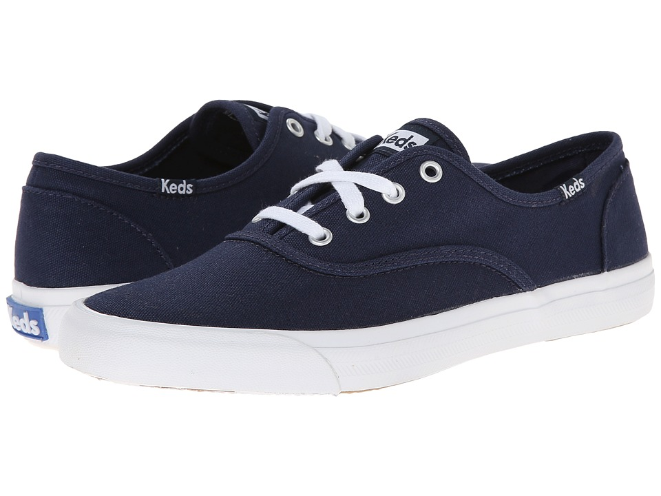 Keds - Triumph Seasonal Solid (Navy) Women's Lace up casual Shoes