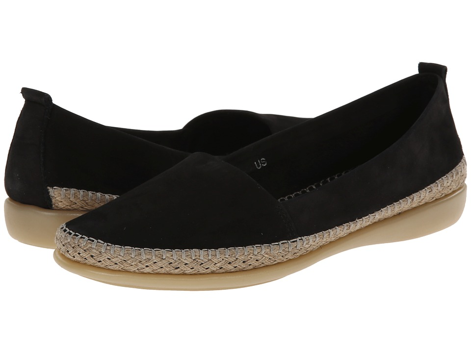The FLEXX - Rapid (Black Nubuck) Women's Flat Shoes