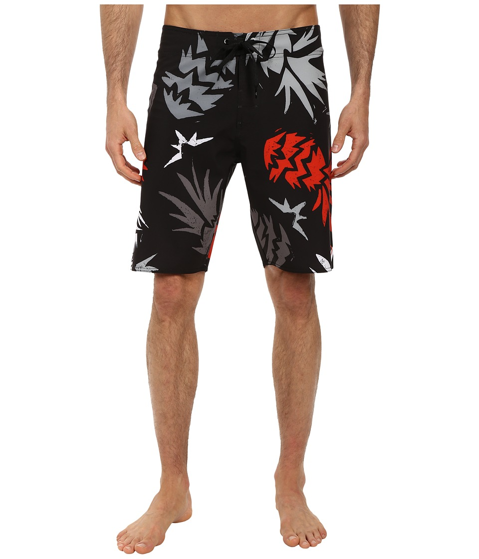 Volcom - Lido Lada Boardshort (Black) Men's Swimwear