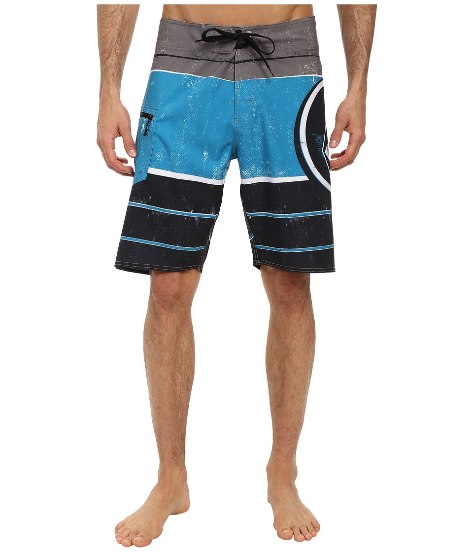 Volcom - Lido Ion Boardshort (Black) Men's Swimwear