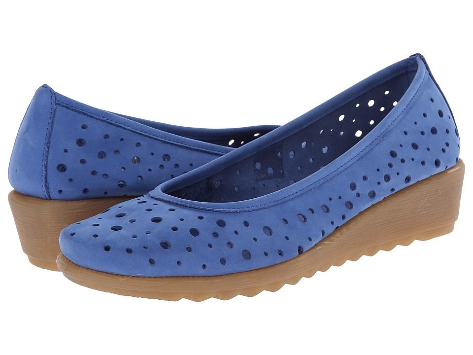 The FLEXX - Run Perfed (Royal Nubuck) Women's Wedge Shoes