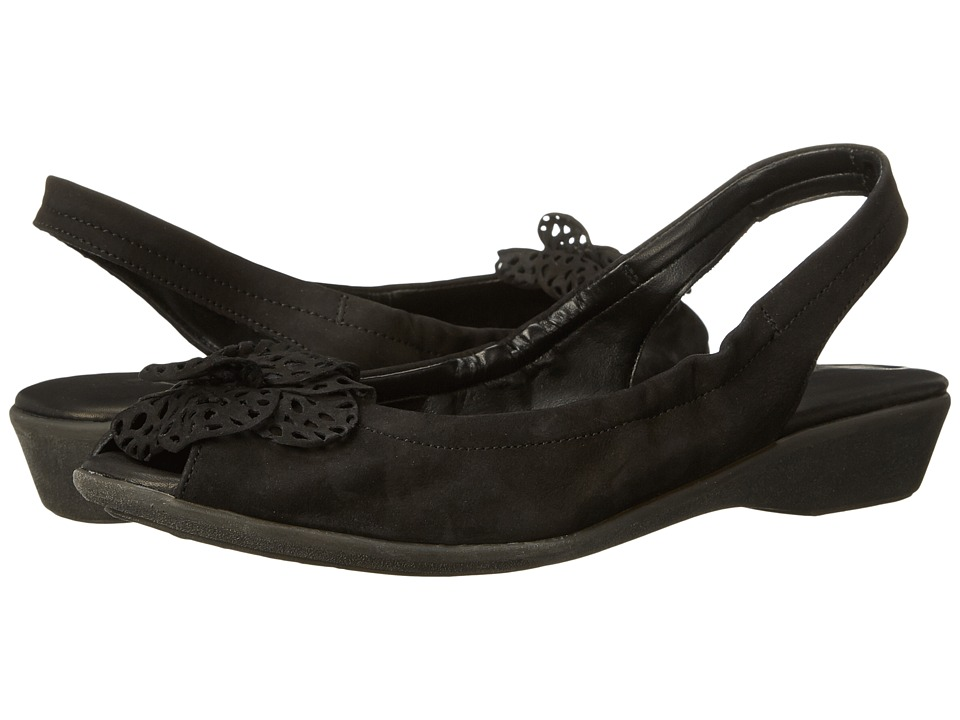 The FLEXX - Sling Along (Black Nubuck) Women