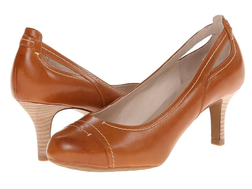Rockport - Seven to 7 65mm Stitch Cap Toe (Valigia Burn Calf) High Heels