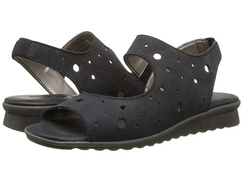 The FLEXX - Fanlight (Black Nubuck) Women's Sandals