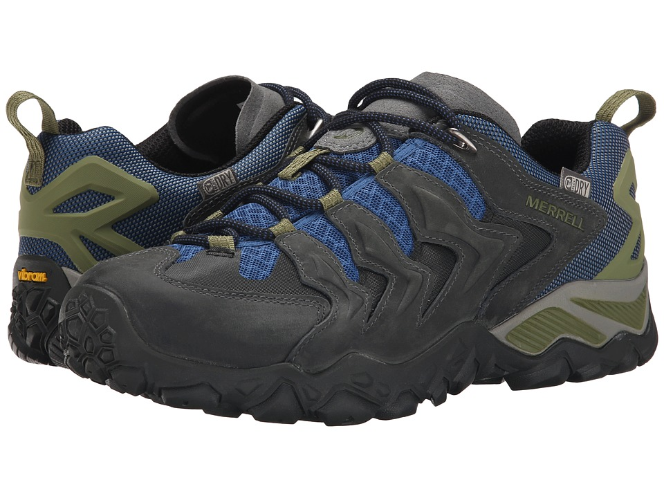 Merrell - Chameleon Shift Ventilator Waterproof (Castle Rock/Tahoe Blue) Men's Shoes