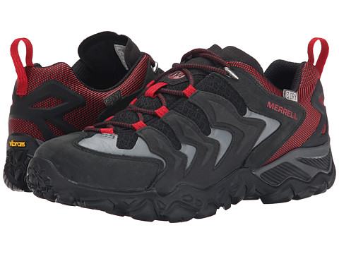 Merrell - Chameleon Shift Ventilator Waterproof (Black/Red) Men's Shoes