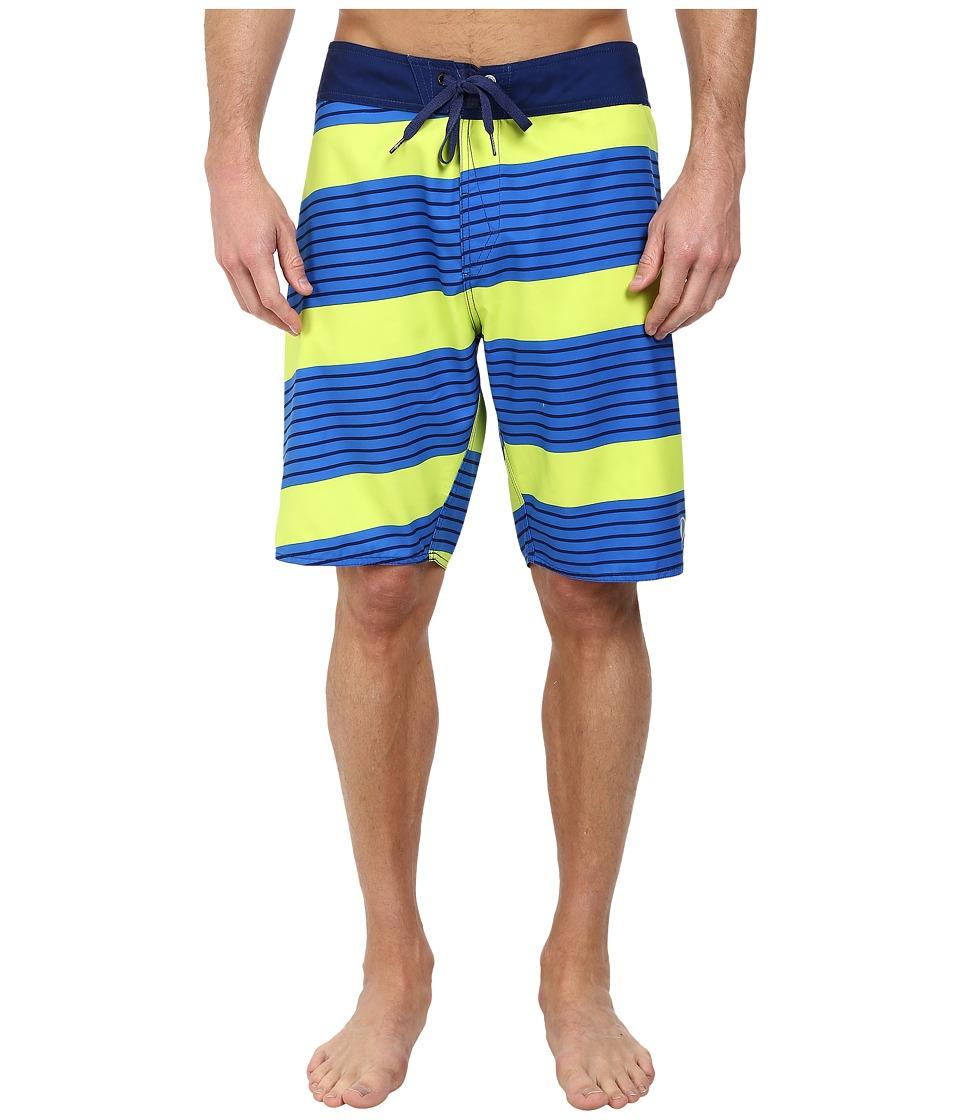 Volcom - Haugg Street 21 Boardshort (Baja Indigo) Men's Swimwear