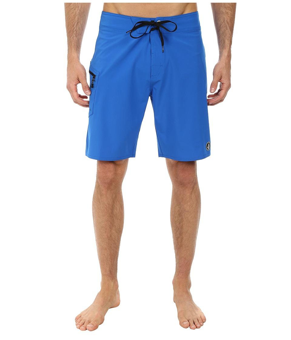 Volcom - Lido Solid 20 Boardshort (Baja Indigo) Men's Swimwear