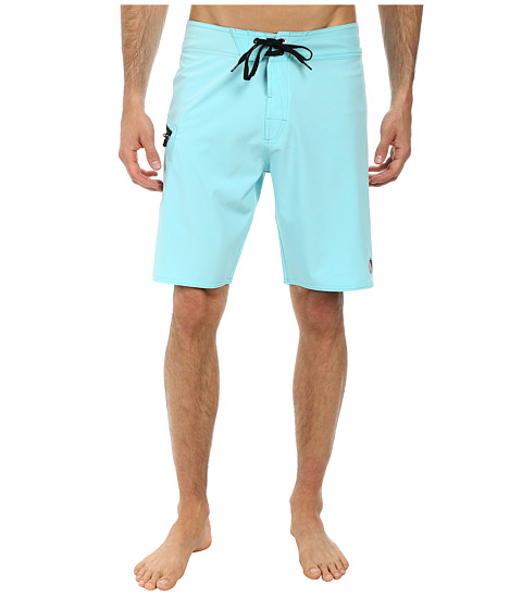 Volcom - Lido Solid 20 Boardshort (Bright Turquoise) Men's Swimwear