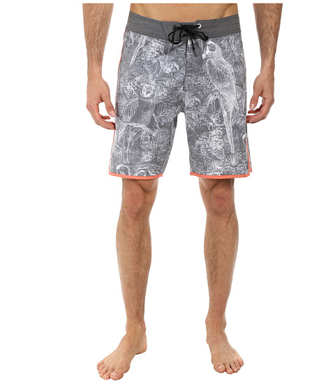 Volcom - Chirp Chirp Boardshort (Black) Men's Swimwear