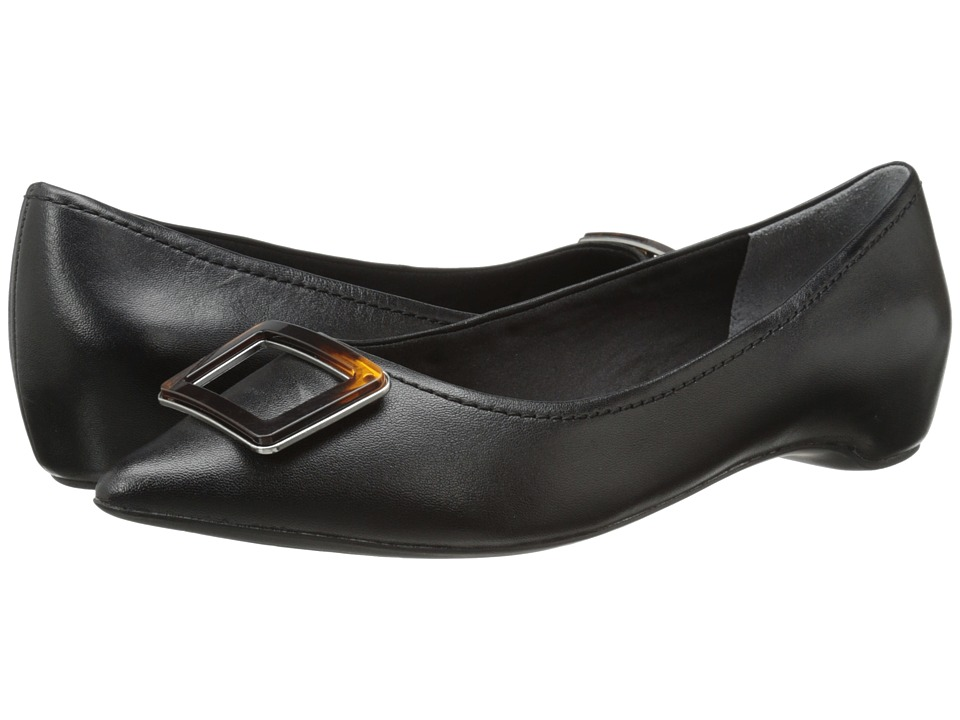 Rockport - Total Motion 30mm Buckle (Black Nappa Leather) Women's 1-2 inch heel Shoes